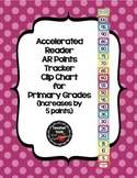 Accelerated Reader (AR) Points Club Clip Chart (every 5 po