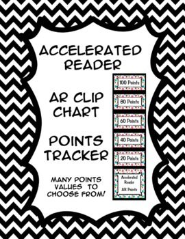 Accelerated Reader (AR) Points Club Clip Chart