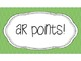 Accelerated Reader { AR Points Tracker}