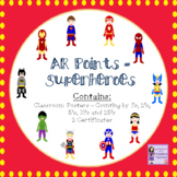 Accelerated Reader (AR) Posters to Display Student Progres