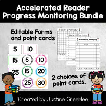 Accelerated Reader ( AR ) Progress Monitoring BUNDLE!