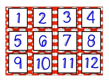 Accelerated Reader (AR) Quiz Line-Polka Dots Theme-Red