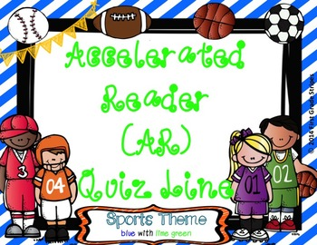 Accelerated Reader (AR) Quiz Line-Sports Theme-Blue