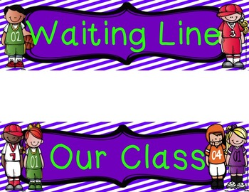Accelerated Reader (AR) Quiz Line-Sports Theme-Purple