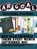 Accelerated Reader (AR) Tracking Poster Sheets