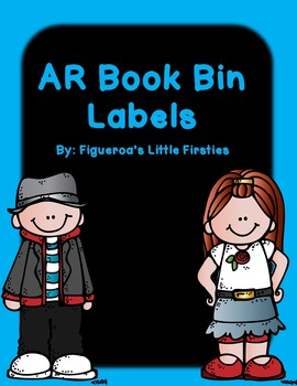 Accelerated Reader AR book bin labels from 0.0-5.9