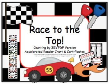Accelerated Reader -AR- points chart by 20's