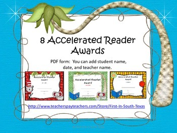 Accelerated Reader Award