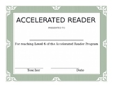 Accelerated Reader Awards Pack