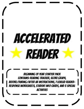 Accelerated Reader Beginning of Year Package