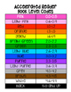 Accelerated Reader Book Bin Labels AND clip chart! (AR labels)