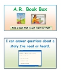 Accelerated Reader Book Box and Learning Target for Elementary