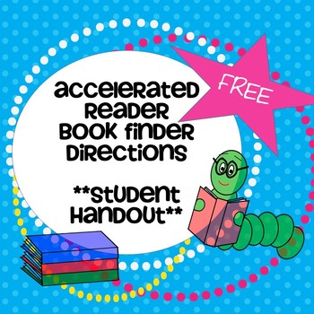 Accelerated Reader Book Finder Directions