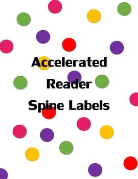 Accelerated Reader Book Spine Labels