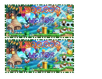 Accelerated Reader Bookmarks ( 1.1 - 3 million)