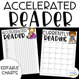 Accelerated Reader Charts {Editable}