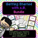 A.R. Mangement Kit- Reading Logs, Book Bin Labels, Rewards, & Management Charts