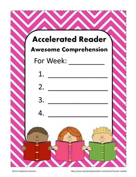 Accelerated Reader - Classroom Ideas to Inspire Reading with Chevron Backgrounds