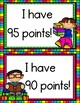 Accelerated Reader Clip Chart (Colorful Frames)