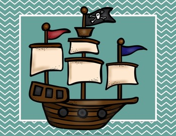 Accelerated Reader Clip Chart: Pirate