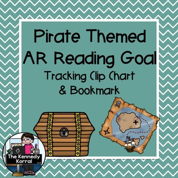 Accelerated Reader Clip Chart and Bookmark {Pirate Themed}