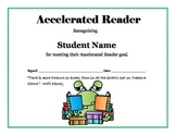Accelerated reader goal certificate editable by technology goddess product thumbnail yadclub Choice Image
