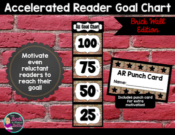 Accelerated Reader Goal Chart: Brick Wall Edition