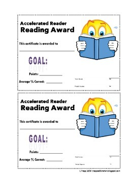 Accelerated Reader Goal Check Kit