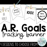 Accelerated Reader Goals Tracking Banner