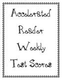 Accelerated Reader Grade Tracker Kit