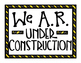 Accelerated Reader Is Under Construction