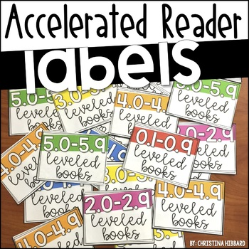 #twosunnydeals Accelerated Reader Labels