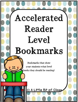 Accelerated Reader Level Bookmarks
