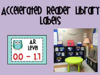 Accelerated Reader Library Basket Labels