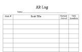 Accelerated Reader Log (AR Llog)