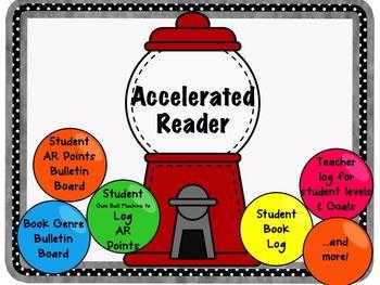 Accelerated Reader Management Program Gum Ball Theme