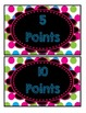Accelerated Reader Mini Clip-Chart - Points Tracker - {Neon Chalkboard}