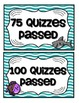 Accelerated Reader Mini Clip-Chart and Goal Pack - {Ocean}
