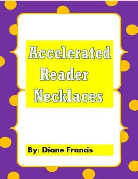 Accelerated Reader Necklaces