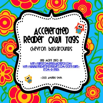 Accelerated Reader Owl Tags