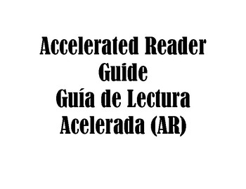 Accelerated Reader Parent Guide (English & Spanish)