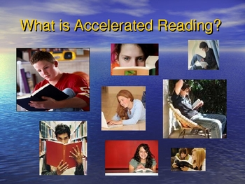 Accelerated Reader Parent Workshop PPT