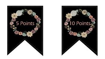 Accelerated Reader Points Clip Chart