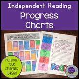 Independent Reading Progress Charts #buyin