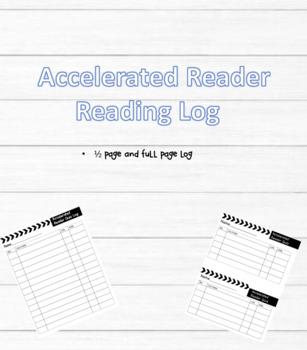 Accelerated Reader Quiz Log