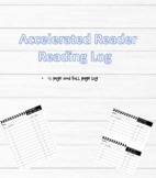 Accelerated Reader Quiz Log