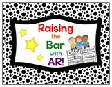 """Accelerated Reader """"Raise the Bar"""" Incentive Chart"""