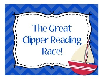 Accelerated Reader & Reading Counts Points Tracker - Nautical Theme