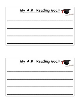 Accelerated Reader Reading Goal