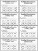 Accelerated Reader / Reading Renaissance Weekly Goal Punch Cards